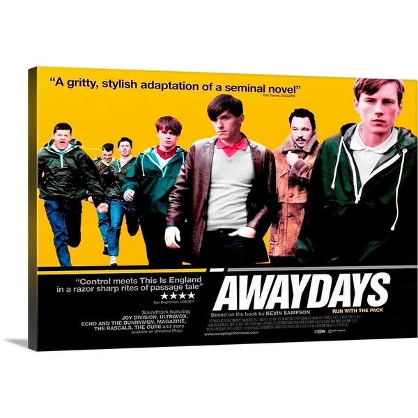 Solid-Faced Canvas Print entitled Awaydays (2009)