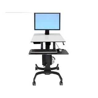 Ergotron 24-216-085 Workfit-C Single Hd Sit/Stand Workstation