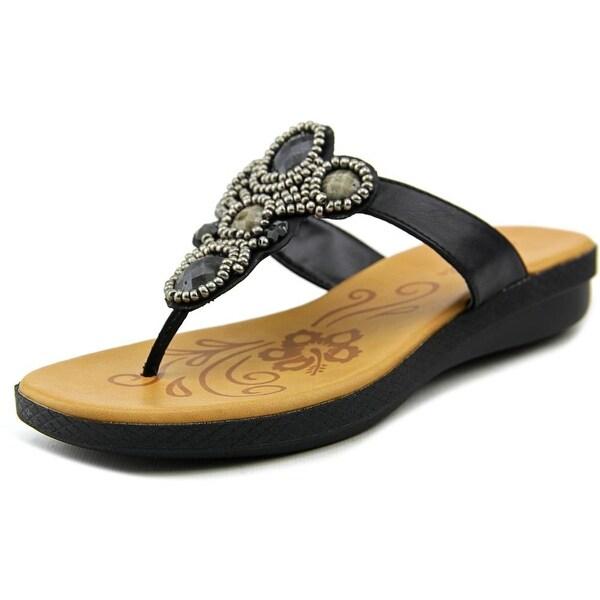 Easy Street Begem Women Black Sandals