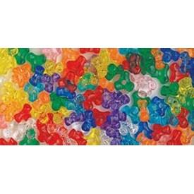 Multicolor - Tri Beads 11mm 900/Pkg