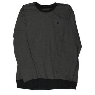 Hurley Mens Nike Drifit Contrast Trim Crew Sweatshirt - XXL