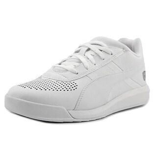Puma Podio TD SF Round Toe Leather Sneakers