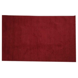 Rectangular Area Rug 6' x 4' Red Cotton Renovator's Supply