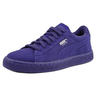 Puma Suede Jr Round Toe Suede Sneakers