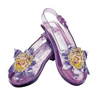 Girls Disney Rapunzel Sparkle Halloween Shoes Set - up to size 6