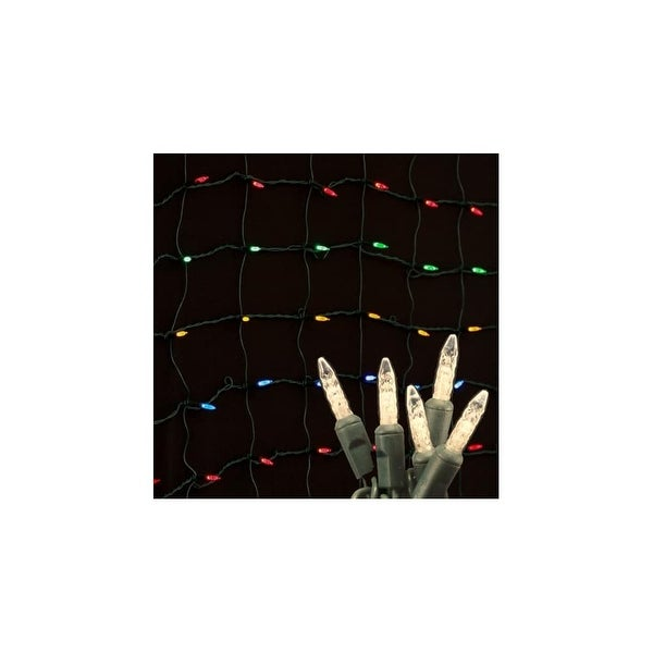 Christmas at Winterland S-4X6MMWW-NG 4X6 Foot M5 Warm White LED Net Lights - Warm White - N/A