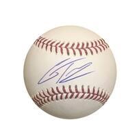 Gleyber Torres New York Yankees Autographed MLB Signed Baseball PSA DNA COA With UV Display Case