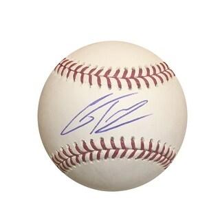 Gleyber Torres New York Yankees Autographed MLB Signed Baseball PSA DNA COA
