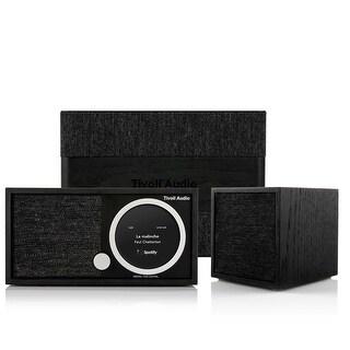Tivoli Audio Model One Digital FM/Wi-Fi/Bluetooth Radio with CUBE Wireless Speaker and ART Model Sub Wi-Fi Subwoofer