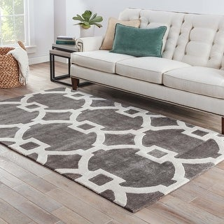 Link to Bronx Handmade Trellis Area Rug Similar Items in Transitional Rugs