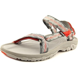 Teva Hurricane XLT Men Open-Toe Canvas Gray Sport Sandal