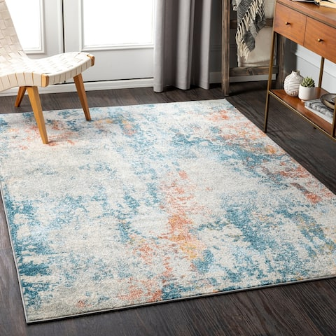 Rafi Modern Abstract Area Rug