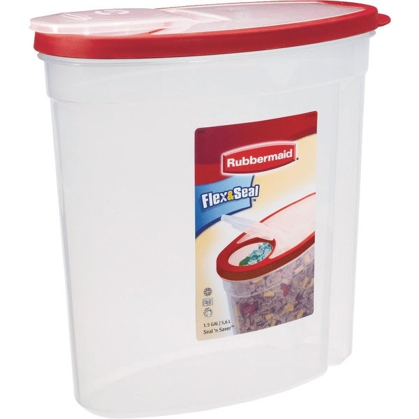 Rubbermaid 1.5Gal Cereal Container