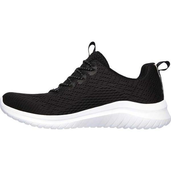 en términos de Arriba Mirar atrás  Shop Skechers Women's Ultra Flex 2.0 Lite-Groove Sneaker Black/White -  Overstock - 30835985