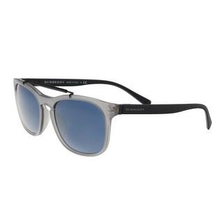 Burberry BE4244F 364080 Matte Grey Rectangular Sunglasses - no size