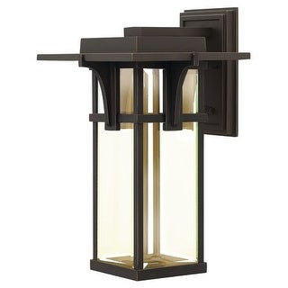 "Hinkley Lighting 2325-LED 18.5"" Height LED Outdoor Lantern Wall Sconce from the Manhattan Collection"