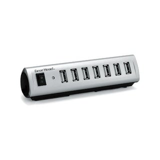 """Gear Head GB0976S Gear Head USB 2.0 7-Port Hub with Energy Saving Switch (AC Powered) (RoHS) (UH7500ESP)"""