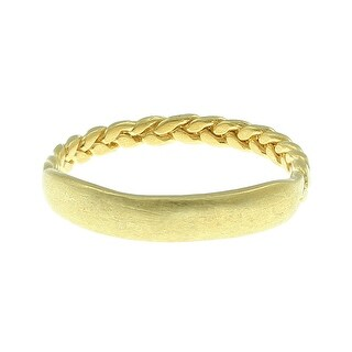 Dogeared Balance Braided Bar Ring