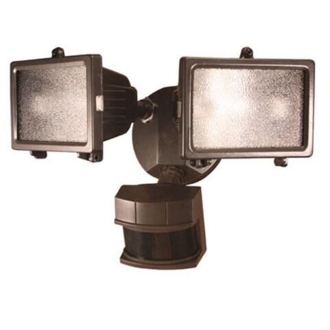 Heath Zenith HZ-5512-BZ Halogen Quartz Motion Sensor Light, 150 Watt, Bronze