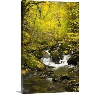 """Autumn woods"" Canvas Wall Art"