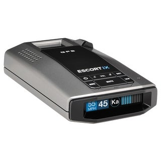 Escort iX Long Range Laser/Radar Detector with GPS, AutoLearn Technology
