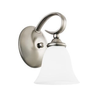 Sea Gull Lighting 41360-965 Rialto Wall Sconce Antique Brushed Nickel - nickel finish