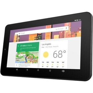 """Ematic EGQ347BL Ematic 7"" HD Quad-Core Multi-Touch Tablet with Android 5.0, Lollipop - Black"""