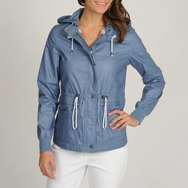 Buffalo Women's Anorak with Hood and Drawstring at Waist and Hem|https://ak1.ostkcdn.com/images/products/is/images/direct/14f95db4a5441613cb26bc0894002ac7bc76d267/Buffalo-Women%27s-Anorak-with-Hood-and-Drawstring-at-Waist-and-Hem.jpg?impolicy=medium