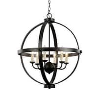 "Trans Globe Lighting 70596 6 Light 28"" Wide Chandelier"