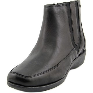 Hush Puppies Sharla Carlisle Women Square Toe Leather Ankle Boot