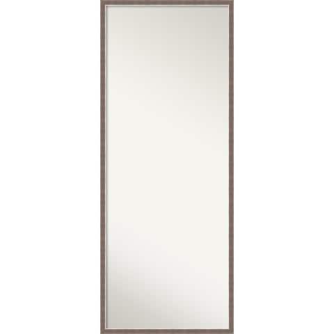 Noble Mocha Decorative Full Length Floor / Leaner Mirror - Noble Mocha