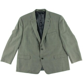 Shaquille O'Neal Mens Wool Pindot Sportcoat - 52R