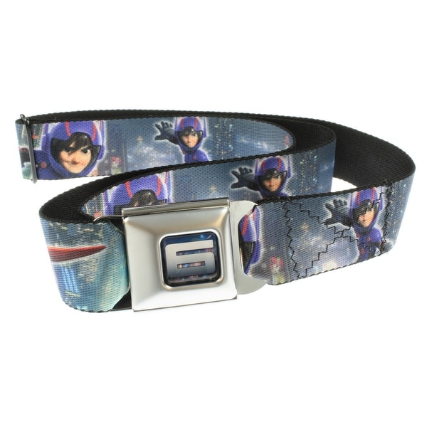 Big Hero 6 - Hiro & Baymax Seatbelt Belt-Holds Pants Up