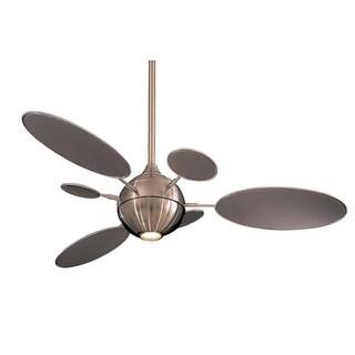 """MinkaAire Cirque 6 Blade 54"""" Ceiling Fan - Light and Wall Control Included"""