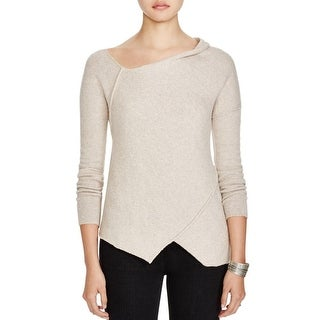 Free People Womens Pullover Sweater Wool Blend Asymmetrical