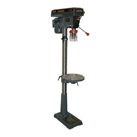 Offex 16 Speed Drill Press - Gray