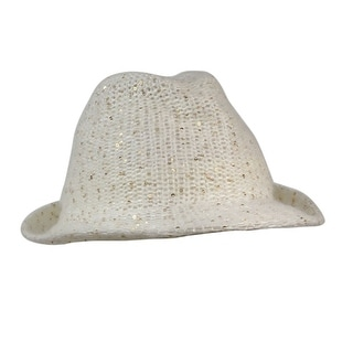 Collection Eighteen Women's Sequined Knit Fedora - os