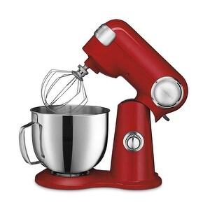 Cuisinart SM-50R Precision Master 5.5-Quart Stand Mixer, Red