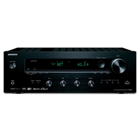Onkyo TX-8260 Network Stereo Receiver with Built-In Wi-Fi and Bluetooth