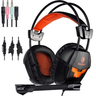Sades SA921 Universal Gaming Headset Headphone With Mic for PS4 Xbox360 NEWXbox one
