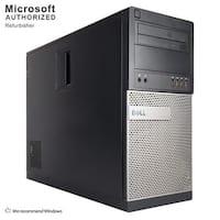 Dell OptiPlex 990 Computer Tower Intel Core I7 2600 3.4G 16GB DDR3 2TB HDD DVD W10P64(ES/EN)-1 Year Warranty (Refurbished)-Black