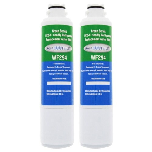 Replacement Water Filter For Samsung DA29-00020B Refrigerator Water Filter by Aqua Fresh (2 Pack)