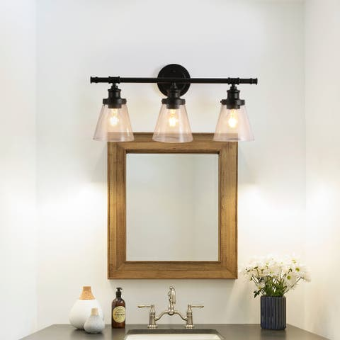 Cedar Hill 3-light vanity fixture