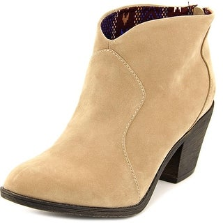 Blowfish Schloss Women  Round Toe Synthetic Tan Ankle Boot