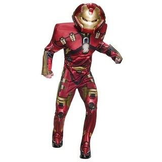 Avengers 2 Iron Man Hulkbuster Costume Adult Standard - Red