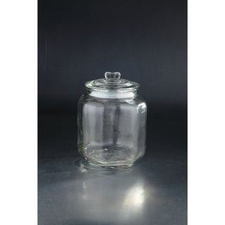 """Link to 11"""" Clear Apothecary Canister Glass Storage Jar with Lid Similar Items in Accent Pieces"""