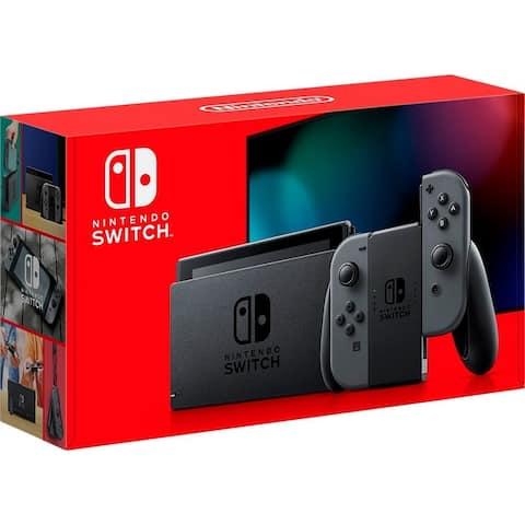 Nintendo Switch 32GB Console - Gray Joy-Con