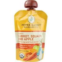 Peter Rabbit Organics - Carrot, Squash & Apple Puree ( 10 - 4.4 OZ)