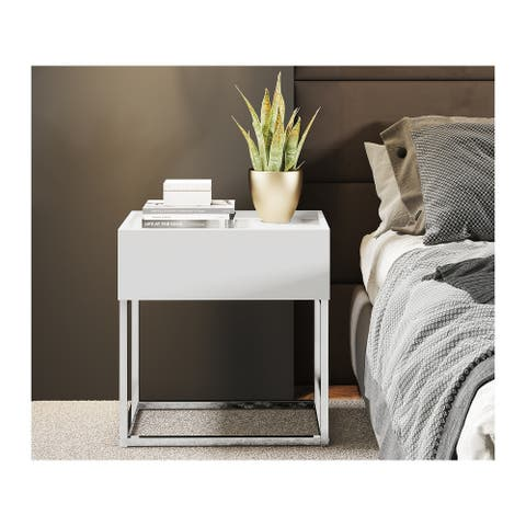 NOA Modern 1-drawer Nightstand