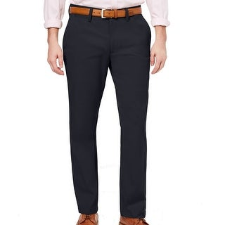 Link to Club Room Mens Pants Navy Blue Size 40X30 Straight Leg Chino Stretch Similar Items in Big & Tall